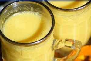 Leche dorada para tu salud y belleza - bebida dorada