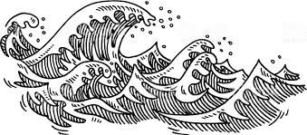 Image Result For Waves Drawing Tumblr Tattoo Ideas In 2019