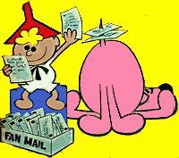 Tom Terrific and Mighty Manfred the Wonder Dog.  Terrytoons 1957 on Captain Kangaroo