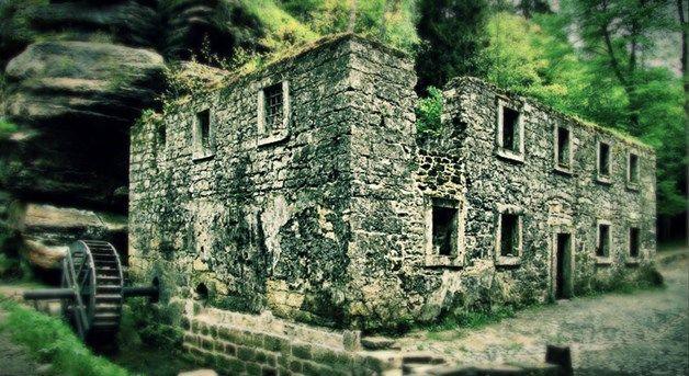 Strašidelný Dolský mlýn