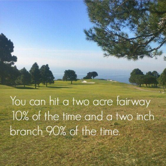 It's amazing how that happens. >:( | Rock Bottom Golf #RockBottomGolf