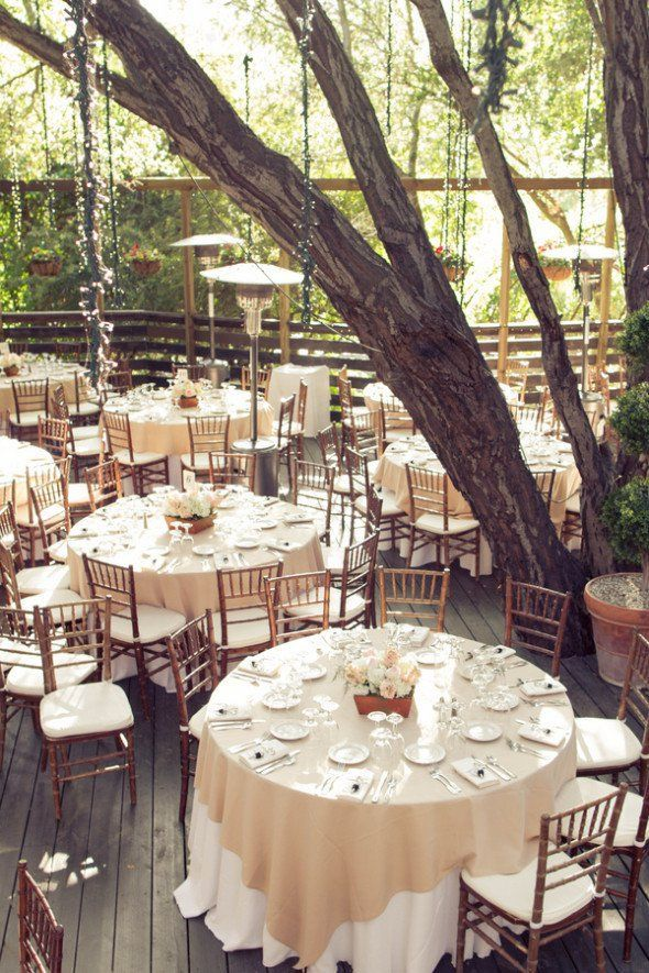 Rustic Wedding Reception, outdoor reception ideas