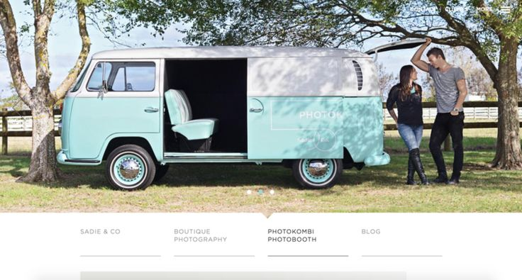 VW Kombi converted to a travelling photobooth - so cool!!