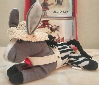 Child Manners Best Behavior Book Music CD Kids Plush Zippyr the Zebra-Key New Once an extinct animal: A Quagga! Zipper  Minds his Mommy & Daddy and does everything right . Hear Ben the donkey braying for the first time. Includes story of Bronco Gomez and Zell the Zebra-Key. Ages 3+ Music and lyrics Chris and Mary Milam Vocals also with Maggie Cox Child Chambers and Corky Mayberry Instrumentals by Scott Sanders and Bob Jackson By Mar-Ka-Mi Manufactured by Midwest Records 1999 Plush CD…