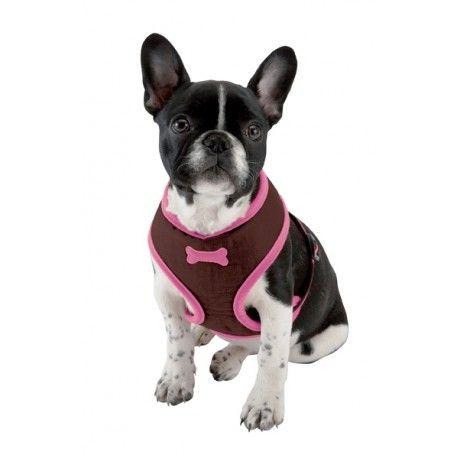 Arlequin Softsele - Dejlig komfortabel hundesele i blød nylon fra Bobby ....