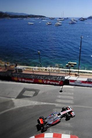 Jenson Button (GBR) McLaren MP4/26.   Formula One World Championship, Rd 6,  Monaco Grand Prix, Qualifying Day, Monte-Carlo, Monaco, Saturday, 28 May 2011
