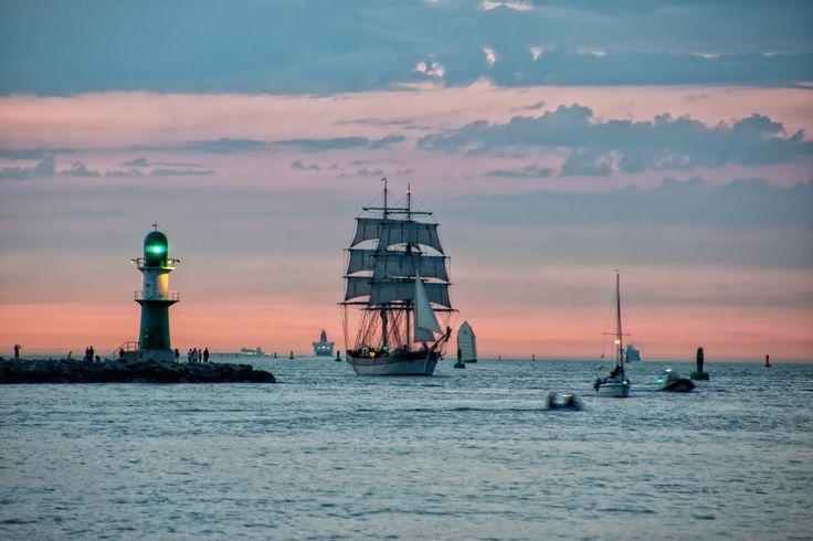 Hanse Sail 2015 - Maritimes Hightlight in Rostock/Warnemünde