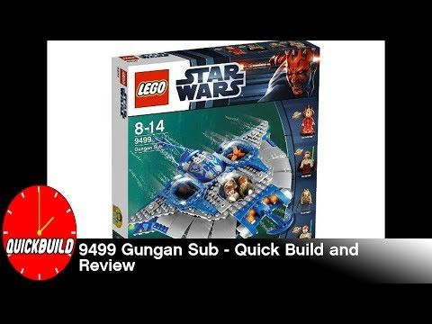 Just posted! LEGO Star Wars 9499 Gungan Sub - Quick Build and Review  https://youtube.com/watch?v=32aRjfnl-x8
