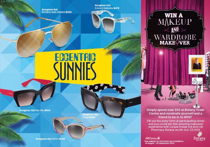 Eccentric Sunnies  ALLURE Spring Postcard Series 3