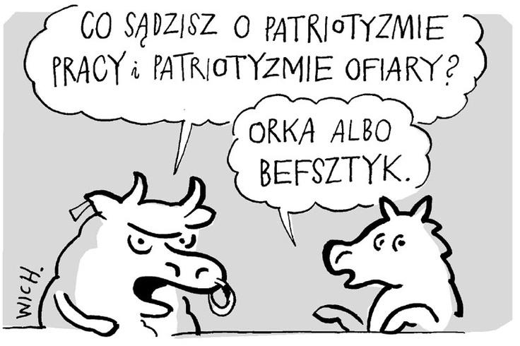 """Rys. Marcin Wicha """"TP"""" 39/2012"""