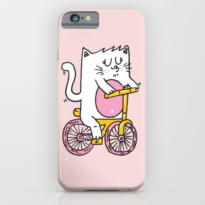 Riding the bike iPhone & iPod Case by Adrian Serghie | Society6