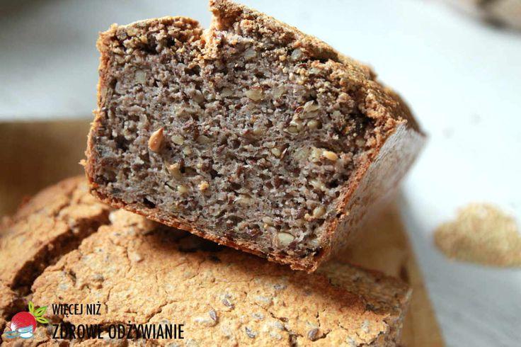 Więcej Niż Zdrowe Odżywianie Alkaliczny bezglutenowy chleb gryczany - Zdrowe odżywianie, oczyszczanie