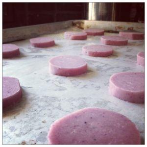 Ube Shortbread recipe - Filipino cookies, ube is purple yam