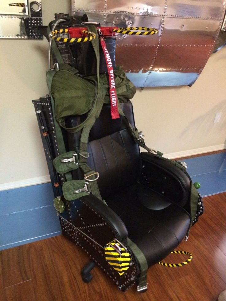 Ejection Seat Desk Chair