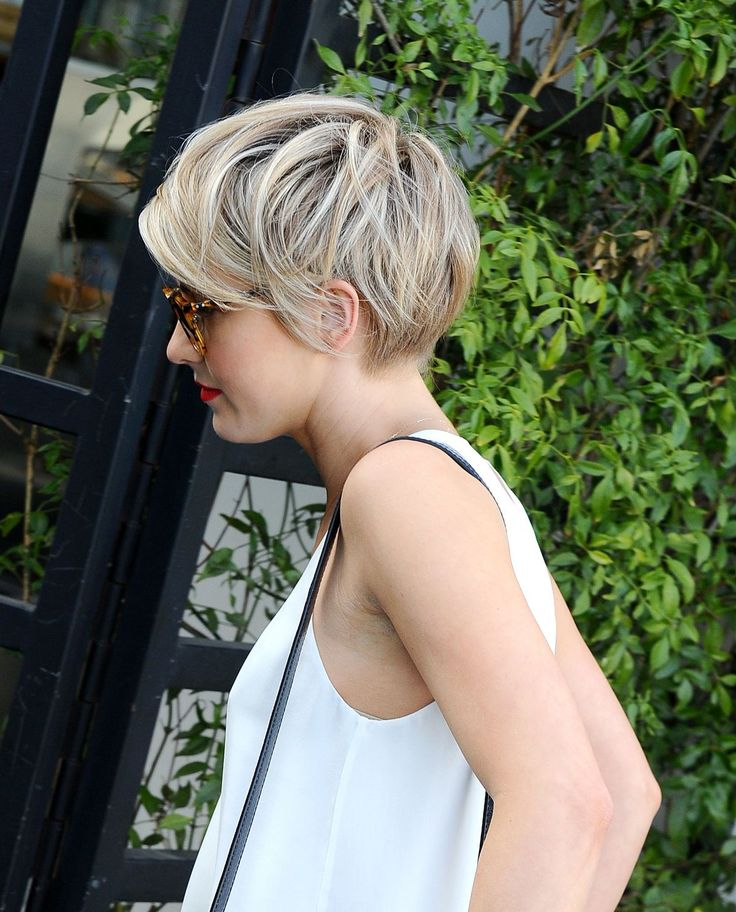 sweet and tough little pixie. tousled, textured, tapered, and totally easy (looking, AND to style-if you choose).