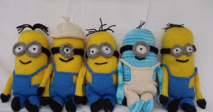 75 Best Minions Images On Pinterest Knit Crochet Knitting