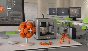 The new $199 M3D 3D printer http://3dprint.com/1071/m3d-micro-3d-printer-unveiled-priced-at-199-on-kickstarter-next-month/