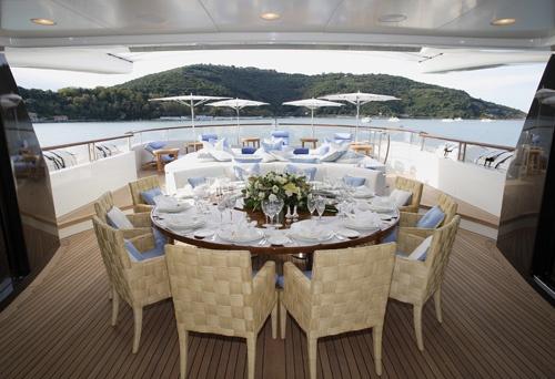Xanadu Super Yacht Price $48 Million USD - Main Deck