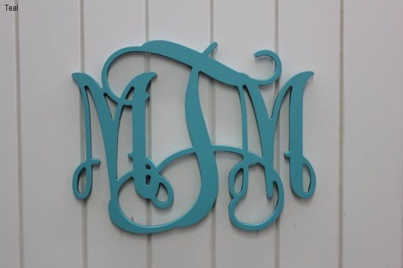 18 Tall Wall Monogram Wall Decor Personalized by LettersGalore