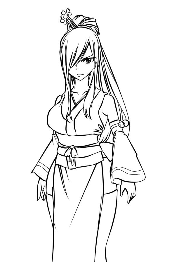 64 best Lineart: Fairy-Tail (Anime) images on Pinterest ...