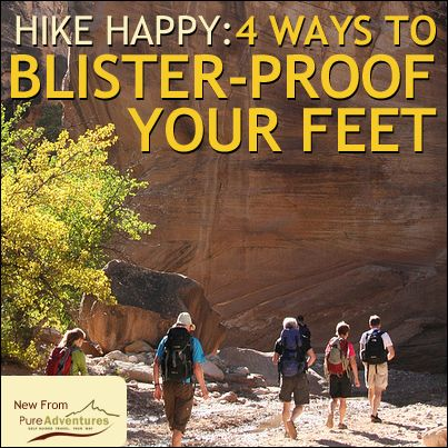 HEALTH RELATED:  4 tips from experts to preventing blisters while you are hiking