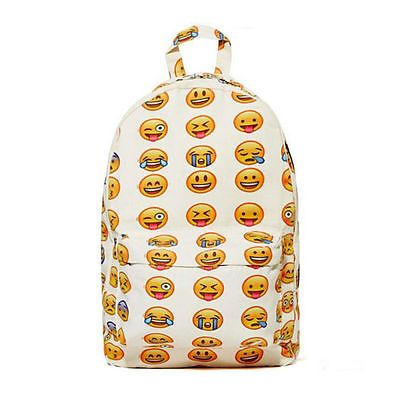 Boys Girls Kids School Backpacks bag Face Emoji Pattern Print Shoulder Back Bags in Clothes, Shoes & Accessories,Women's Handbags, | eBay