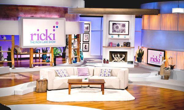 Design Shows On Tv Awesome Designing Sets For Oprah Ellen Tyra And Now Ricki  Tv Set Inspiration Design