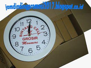 jam dinding promosi: pesan dan buat jam dinding di surabaya