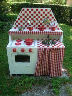 226 best images about zabawki kuchnie on pinterest - Fabriquer cuisine bois enfant ...