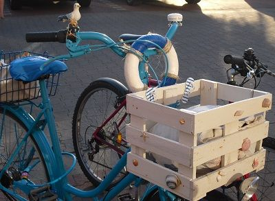 Blue #Bike. #Nordsee-Feeling am Germania Campus. #Münster #Fahrrad