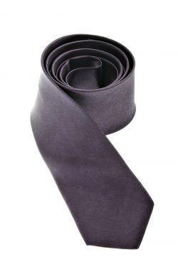 cravate couleur unie