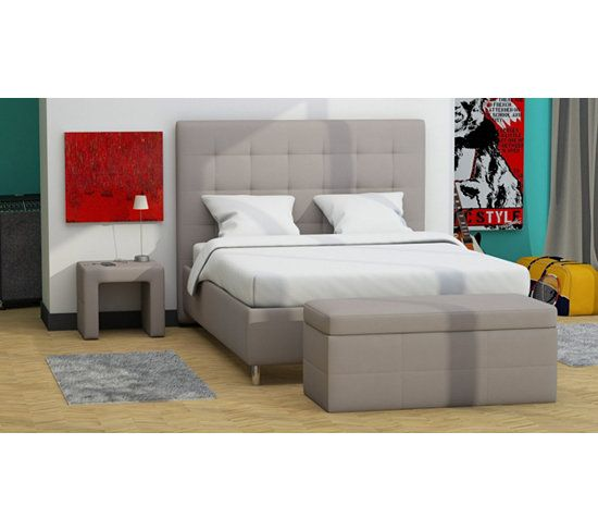 les 25 meilleures id es concernant lit 160x200 sur. Black Bedroom Furniture Sets. Home Design Ideas