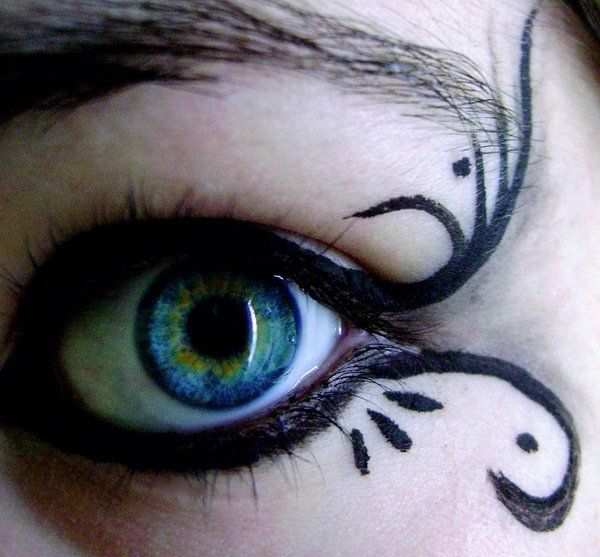 how to apply halloween witch make up eye make up ideas