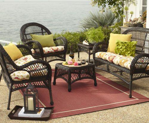Shop Pier 1 Outdoor Furniture: The Santa Barbara Collection.