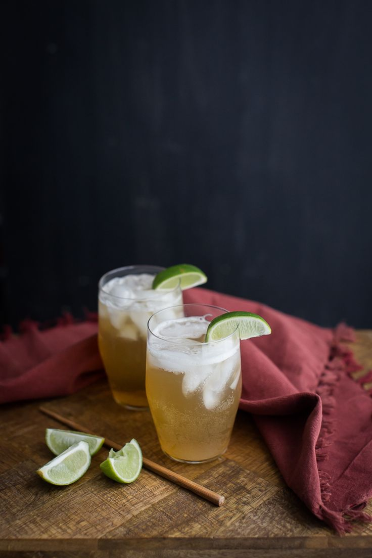 Ginger Lime Fizz | Naturally Ella @naturallyella