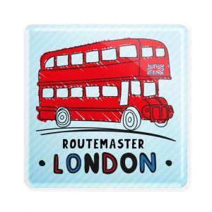 Routemaster London - Ímã colecionável disponível na loja online www.divertima.com