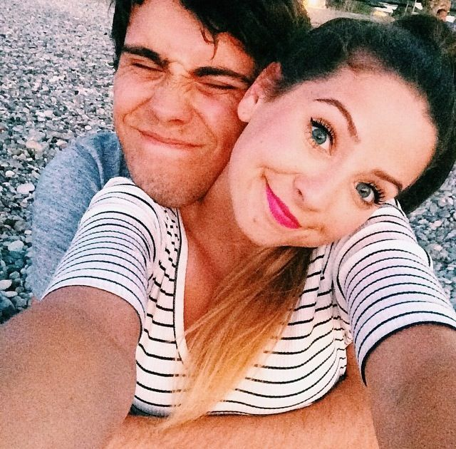 Zoe Sugg and Alfie Deyes❤