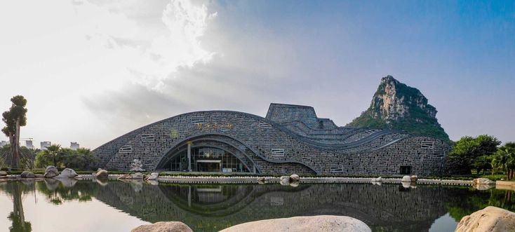 Gallery of Liuzhou Suiseki Hall / TianJin University Research Institute - 10