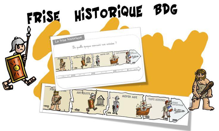 Frise historique CP-CE1 Bout de gomme - Bout de gomme