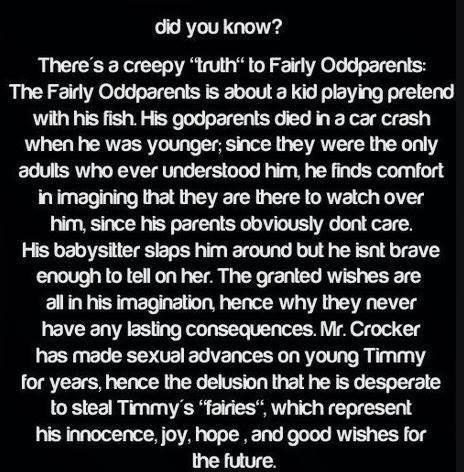 CreepyPasta Warning--This may/may not ruin your childhood