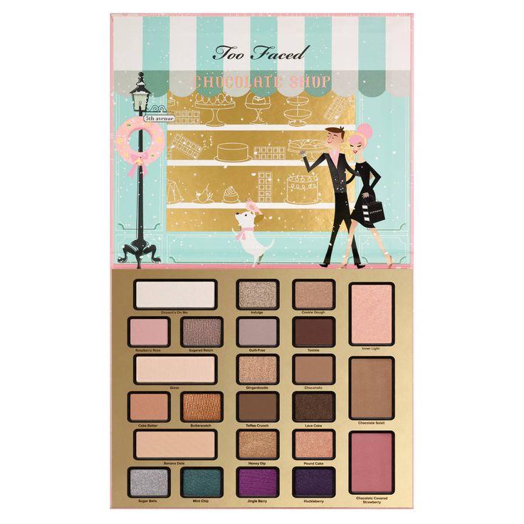 The Chocolatier - Cofre de maquillaje de Too Faced en Sephora.es