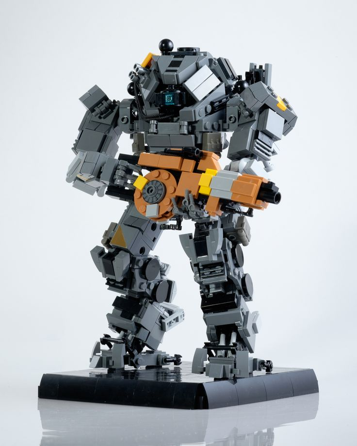 There's a lot to love about Titanfall 2, but one of the best things is the design of the game's mechs. And while we wait for expensive action figures to hit, we can pass the time with these awesome LEGO models built by Marius Herrmann.
