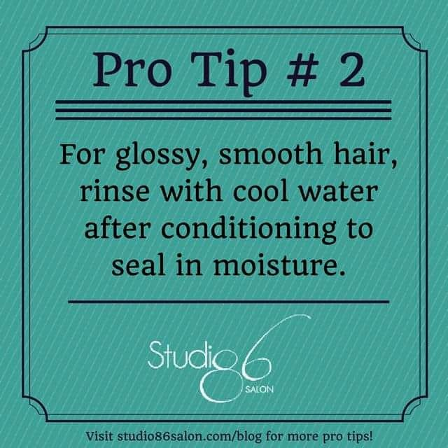 Time for another pro tip! This one really works... have you tried it? Submit your best hair tip in the comments for a chance to win a $25 gift certificate to use at our #Yorkville #hair #salon! #braidideas #hair #salon #toronto #naturalhair #torontohair #mizani #stylist #TO #designessentials #salonlife