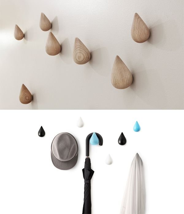 39 best images about coat hooks on pinterest coat hooks for Cool wall hook ideas