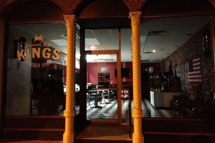 King's Barber Shop, Penacook, New Hampshire, USA