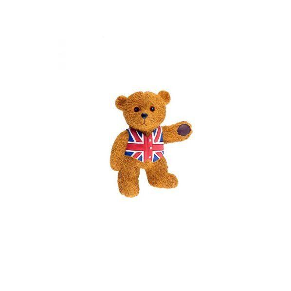 298 = Магнит медведь c футболкой Юнион Джек
