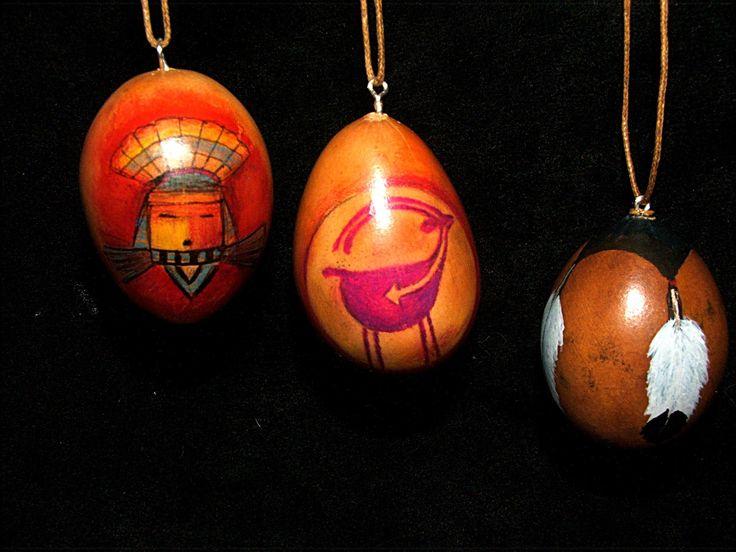 380 best gourd ornaments images on Pinterest  Gourd art Gourd