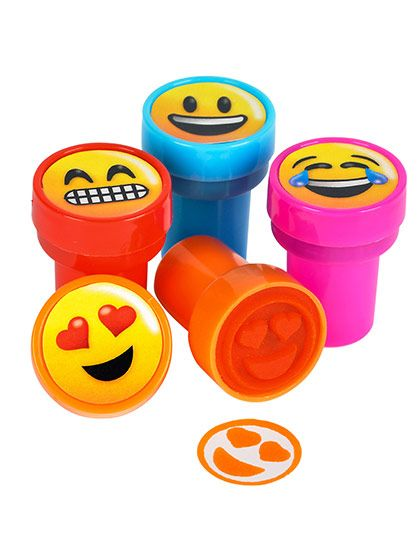 Shopping for Emoji Stampers (24 Count) for your next party? Locate Birthday in a Box for the latest and party decorations and cheap prices.