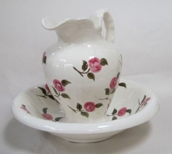 Antique Pitcher and Bowl Sets
