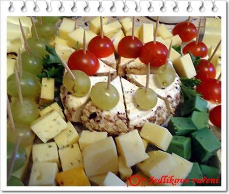 Jedlíkovo vaření: Plněný Hermelín s ořechy